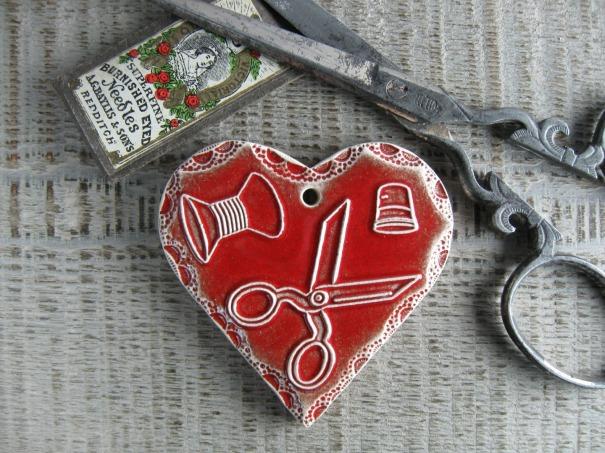 coeur en céramique