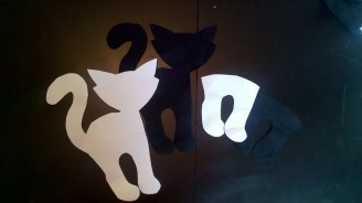 DIY Chat noir