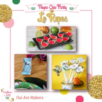 Tropic Chic Party - 4 - Le Repas